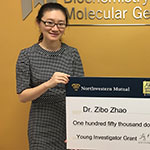 Zibo Zhao Receives Young Investigator Grant for Childhood Cancer Research